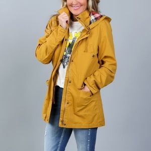 Mustard Utility zip up jacket